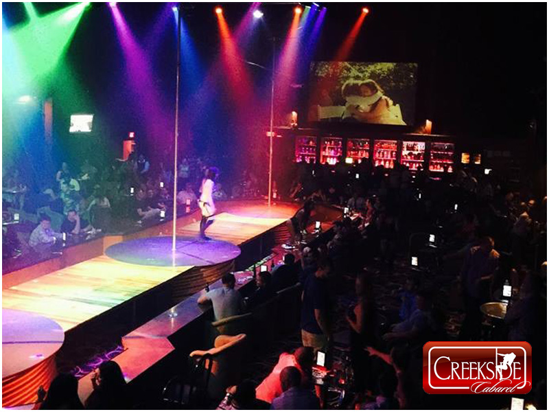 Creekside Cabaret Gentlemen's Club Montgomery County Pennsylvania Main Stage