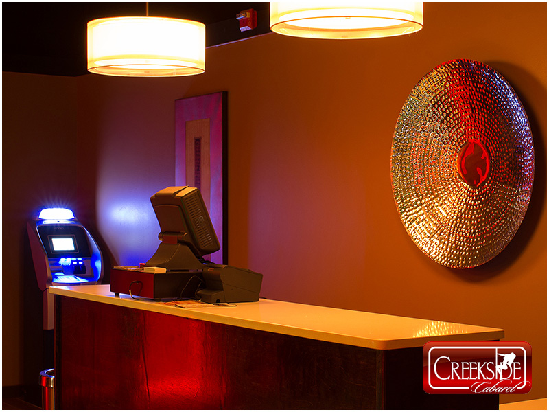 Creekside Cabaret Gentlemen's Club Montgomery County Pennsylvania ATM Machine for Cash